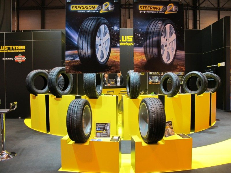 Aeolus displaying Ace2 tyres in 'extremely important' Iberian market show