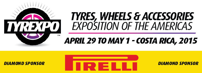 Pirelli first 'diamond' manufacturer sponsor for Tyrexpo2015