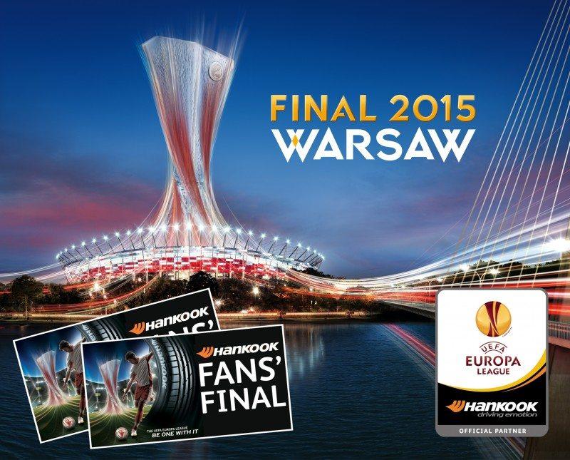 Win Europa League final tickets with Hankook
