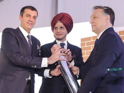 Apollo lays foundation of Hungary Greenfield tyre manufacturing plant