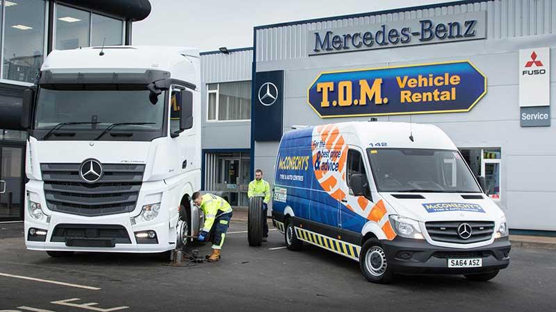 McConechy's Tyres acquires new van fleet