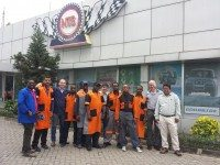 Vipal runs partner training in Tanzania