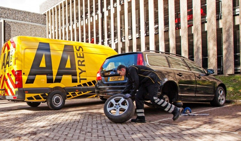 The AA partners Event Tyres in new 'AA tyres' mobile service