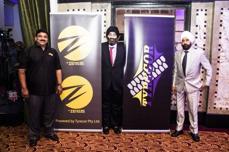South African launch for Z tyre brand