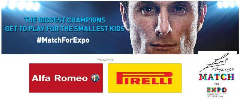 Pirelli a 'top partner' for Zanetti & Friends charity football match
