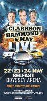 Yokohama to supply tyres to reconfigured Clarkson, Hammond & May Live tour