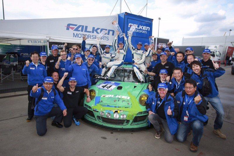 Falken Tyres team secures podium on Nürburgring 24 Hours