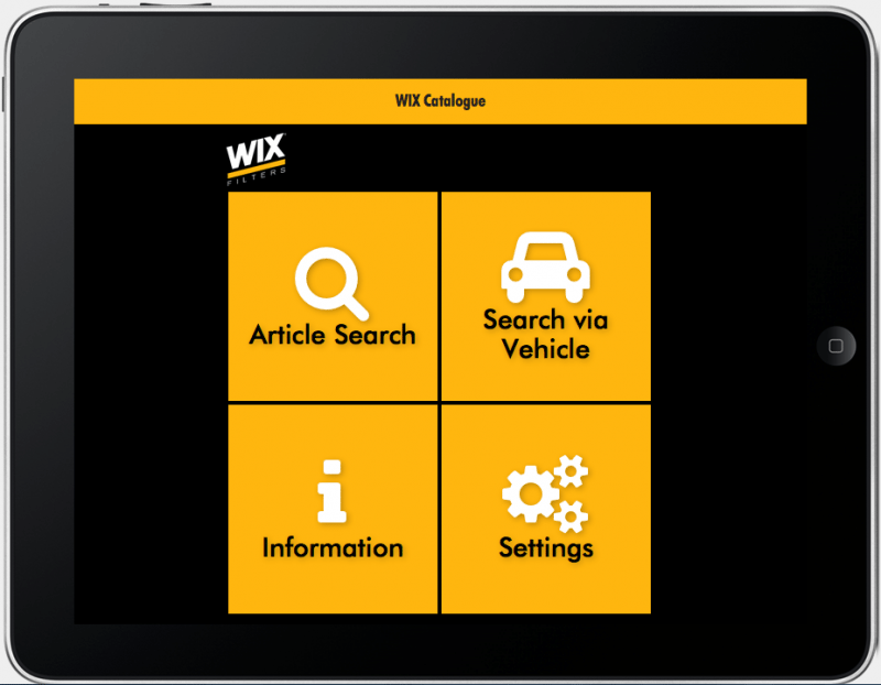TecAlliance provides Wix Filtration with new customer-facing app