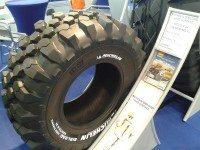 Key tyre size enters Michelin BibLoad Hard Surface range