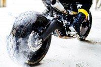 Pirelli tyres fitted on Ducati Scrambler Vibrazioni Art Design special edition