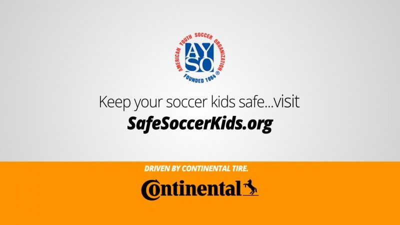 Continental official tyre of US youth football association