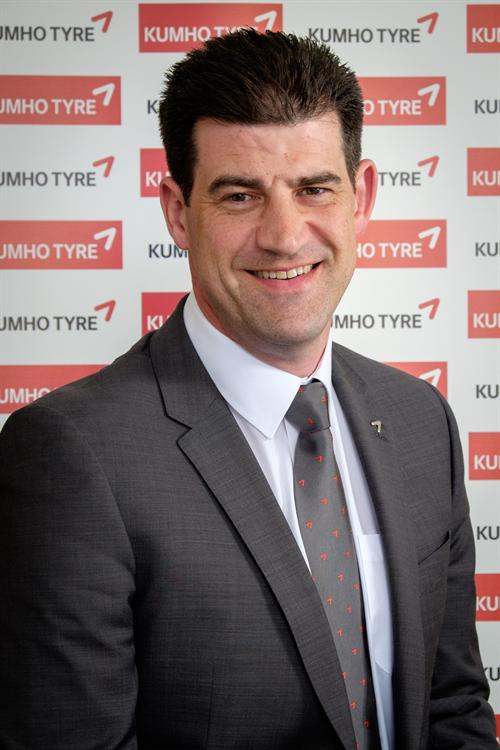 Karl Naylor joins Kumho as national sales manager