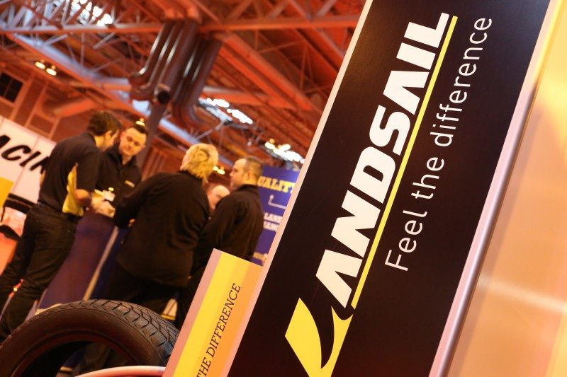 Landsail selling 1.5 million tyres a year via Grouptyre