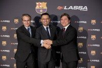 Lassa Tyres sponsors all indoor FC Barcelona teams