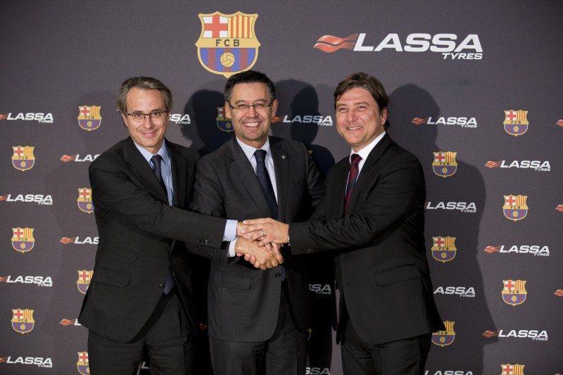 Lassa Tyres sponsors all indoor FC Barcelona teams