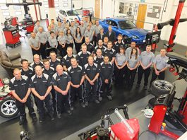 Pro-Align's operation, based in Towcester, Northamptonshire, has grown considerably in the last year with new Irish and commercial vehicle alignment divisions