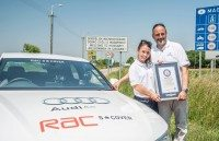 Guinness World Records fuel economy title for A6 TDI ultra