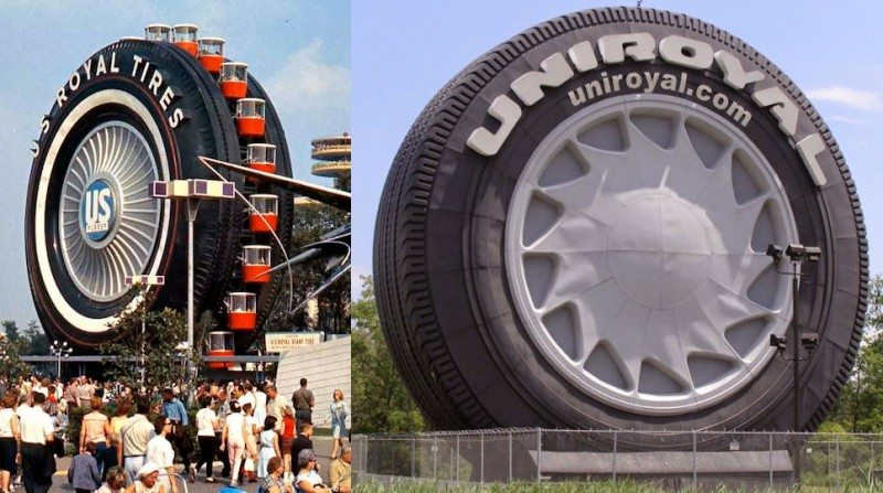 World's largest tyre turns 50