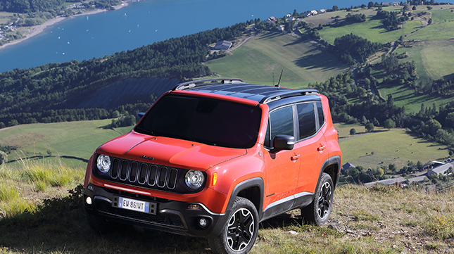 Goodyear supplying tyres for Jeep's new Renegade
