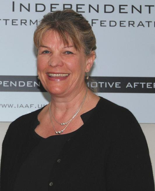 Wendy Williamson has been appointed to the board and made treasurer of FIGIEFA
