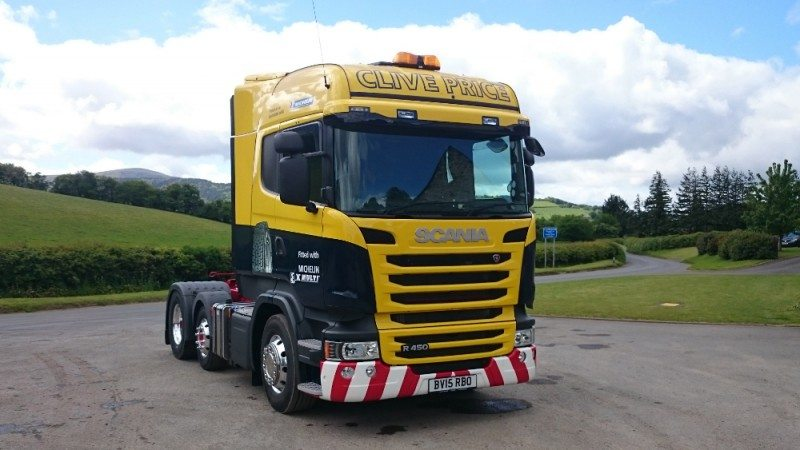 Hereford haulier wins truck in Michelin competition