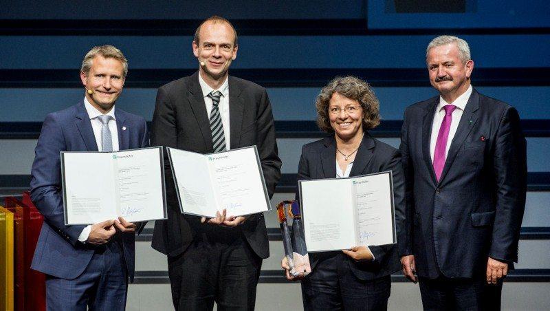 Dandelion rubber research scientists awarded Joseph von Fraunhofer Prize