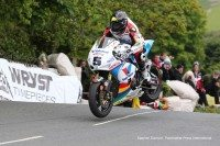 Bruce Anstey claimed his 10th Isle of Man TT win, and first in the RST Superbike class