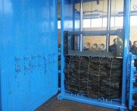 Easi Recycling introduces higher capacity tyre baler
