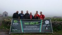 Fast Parts team in Welsh three peaks charity challenge