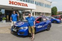 Fuel efficiency record for Honda Civic