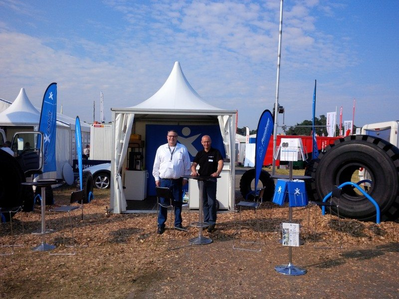 Maxam shows new solid tyre range at Recycling Aktiv show