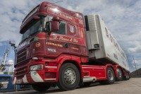 UK mainland's 'most northerly' haulier continues 100-year Michelin relationship