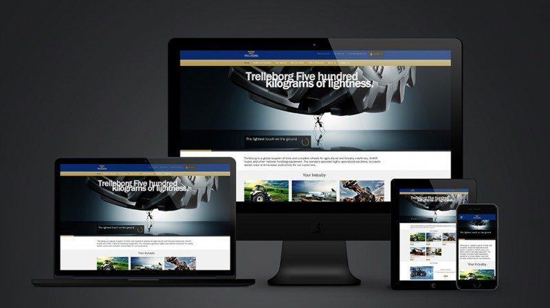 New website 'showcases' Trelleborg's tyre capabilities