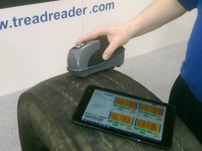 Sigmavision's 3D scanning TreadReader addresses tread depth safety implications