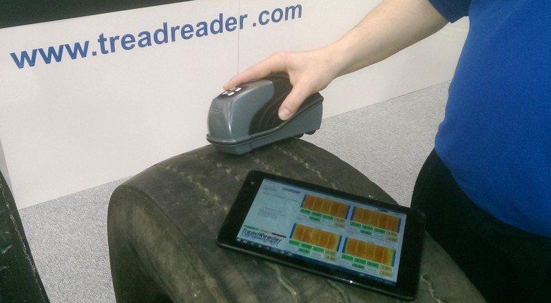 Sigmavision's 3D scanning TreadReader addresses tread depth safety implications