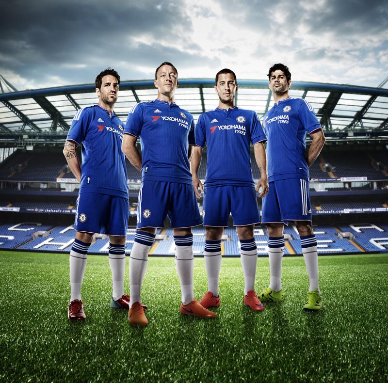 info for 1a784 e3942 Yokohama debuts as Chelsea shirt partner on new home uniform ...