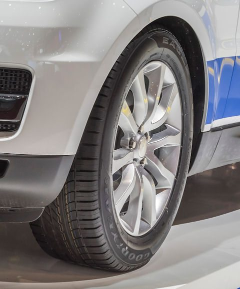 Goodyear tyres OE on Range Rover Sport