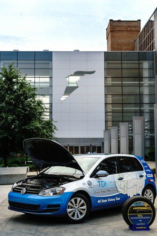 Goodyear-shod VW sets US fuel economy record