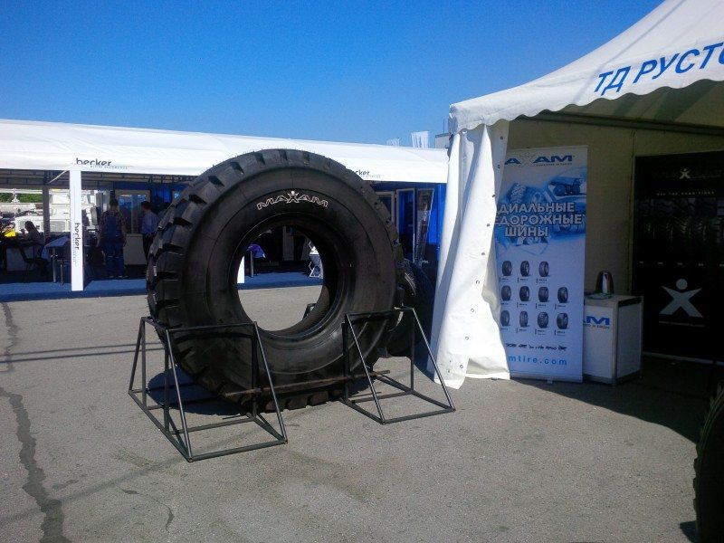 Maxam exhibits at Siberian mining show