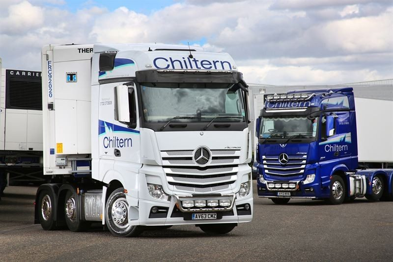Chiltern Cold Storage chooses Michelin for first managed tyre contract