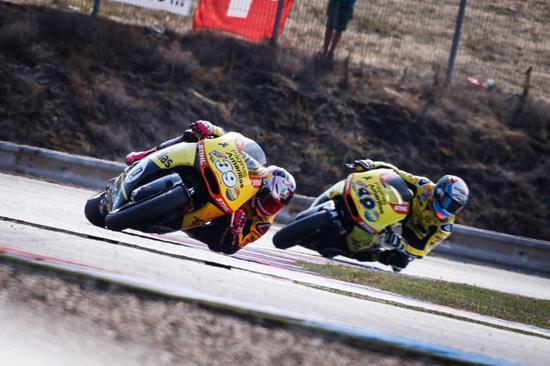 Dunlop ready for Silverstone Moto2, Moto3