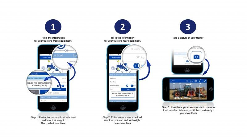 Michelin introduces agri tyre pressure app for iOS devices