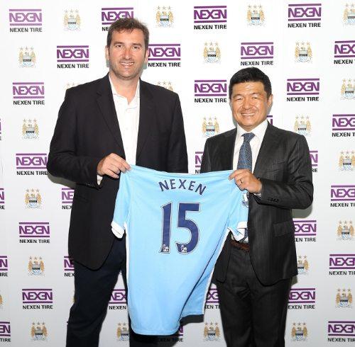 Nexen Tire begins Manchester City FC partnership