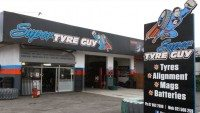 Up, up…and away – tyre shop drops superhero branding following legal threat
