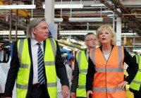 Dunlop Aircraft Tyres tells UK business minister of export sales growth plans
