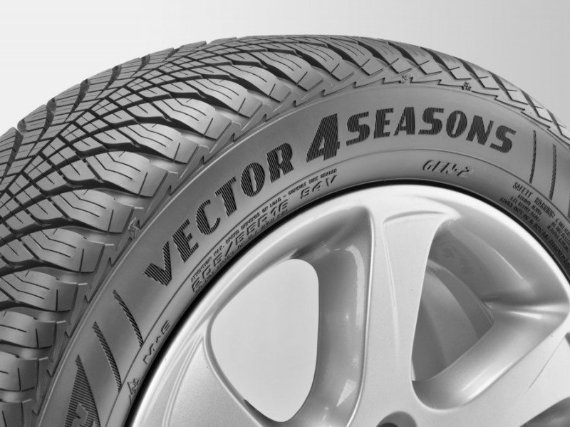 Goodyear's second generation Vector 4Seasons