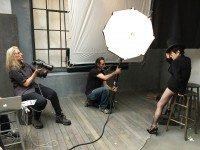 Yoko Ono snapped for 2016 Pirelli Calendar