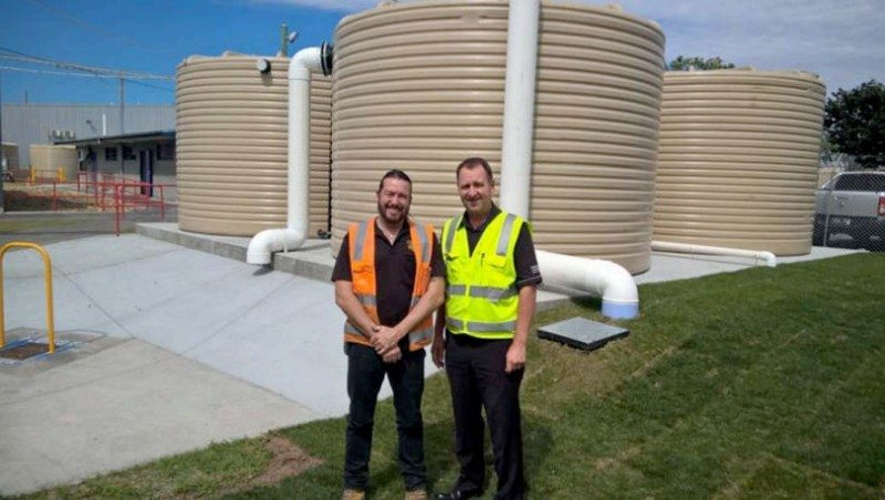 Let it rain – Bandag retreading facility more than doubles rainwater storage capacity