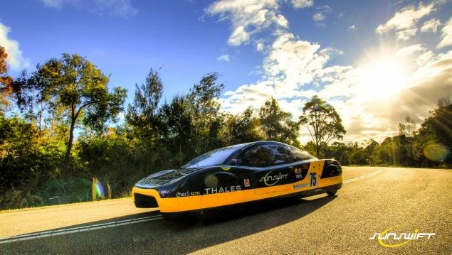 Bridgestone tyres for 'world's fastest' solar sports car