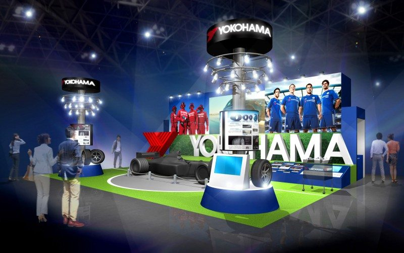 Yokohama to exhibit tyres and Chelsea connection at 44th Tokyo Motor Show